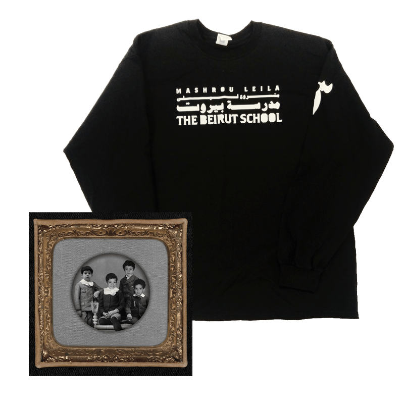 Buy Online Mashrou Leila - The Beirut School Digital Album + Long Sleeve T-Shirt
