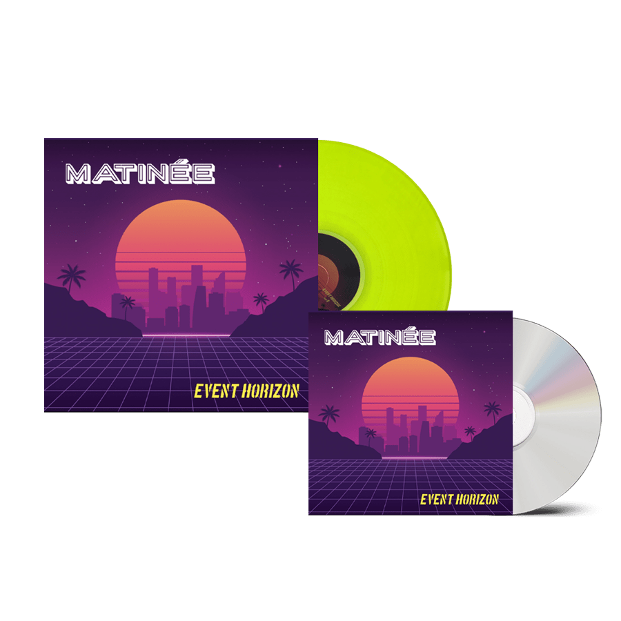 Buy Online Matinee - Event Horizon CD + Neon Yellow Vinyl
