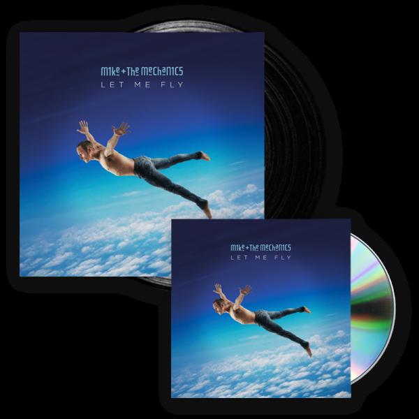 Buy Online Mike And The Mechanics - Let Me Fly CD Album + Vinyl LP