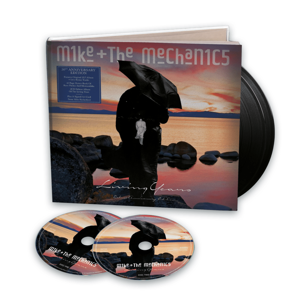 Buy Online Mike And The Mechanics - The Living Years: 30th Anniversary Edition + Exclusive Album Artwork Print Signed by Mike Rutherford