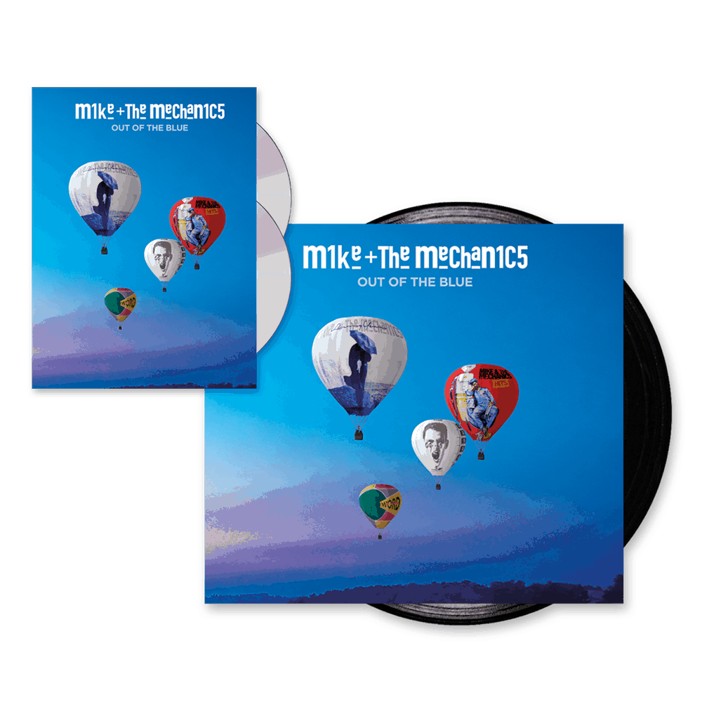Buy Online Mike and The Mechanics - Out Of The Blue Deluxe CD Album + Gatefold Vinyl