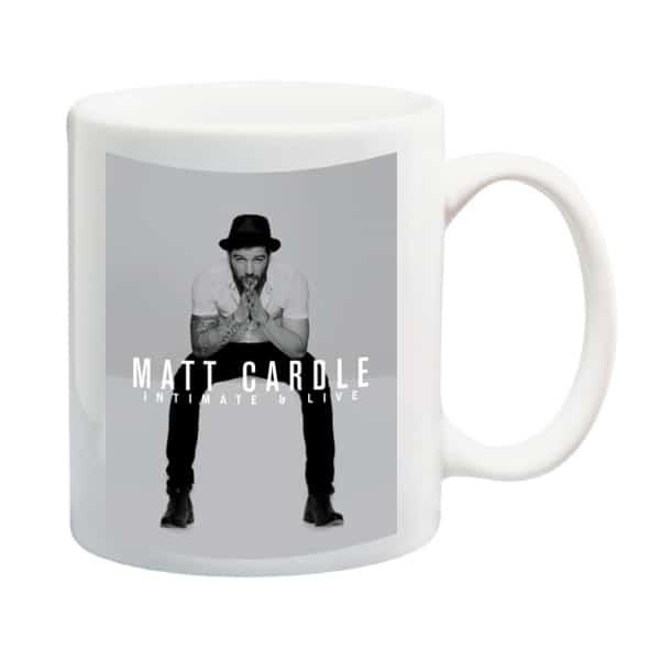 Buy Online Matt Cardle - Intimate & Live Mug