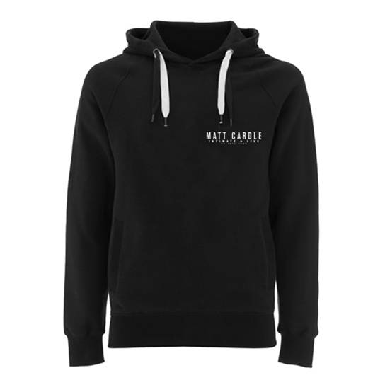 Buy Online Matt Cardle - Intimate & Live Black Hoody