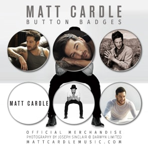 Buy Online Matt Cardle - Intimate & Live Button Badges