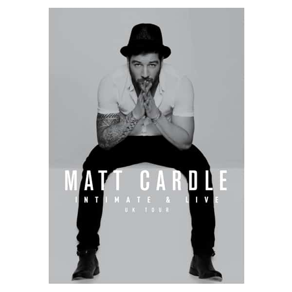 Buy Online Matt Cardle - Intimate & Live 32-page Tour Programme