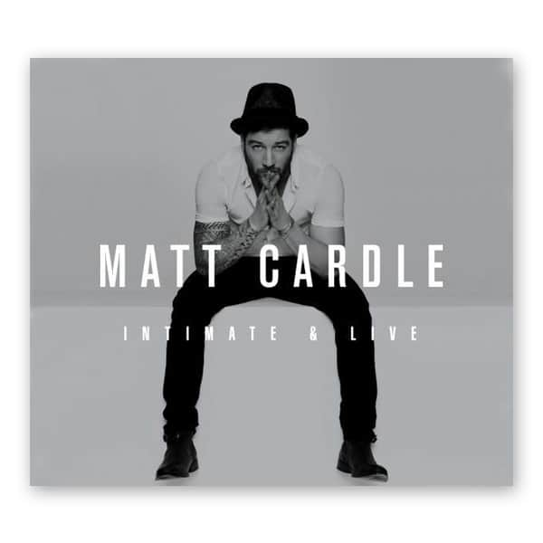 Buy Online Matt Cardle - Limited Edition Intimate & Live Album
