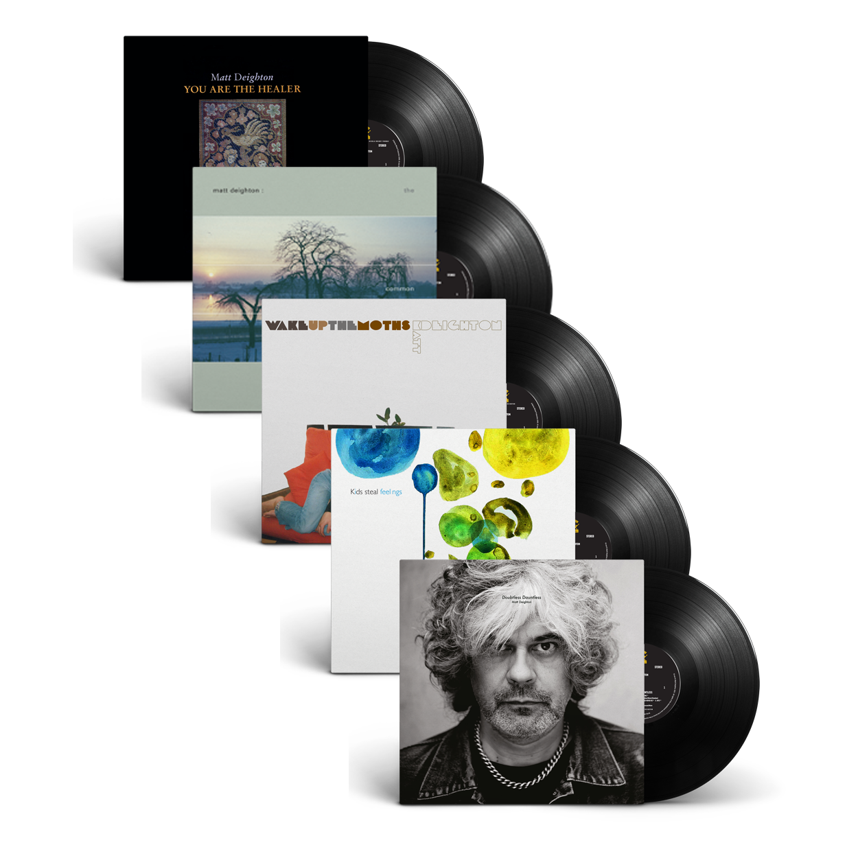 Buy Online Matt Deighton - 5LP Bundle