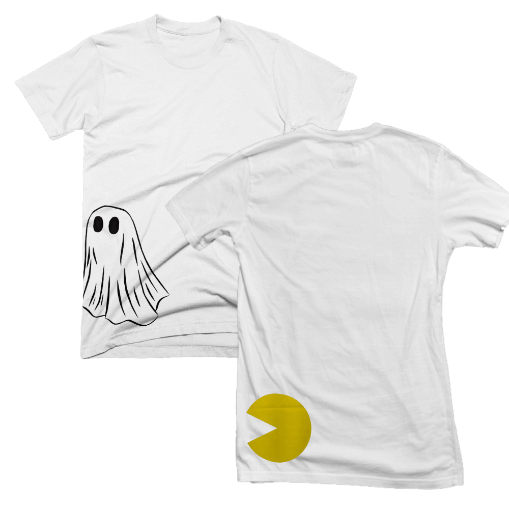Buy Online Matthew Mole - White front and back print T-Shirt