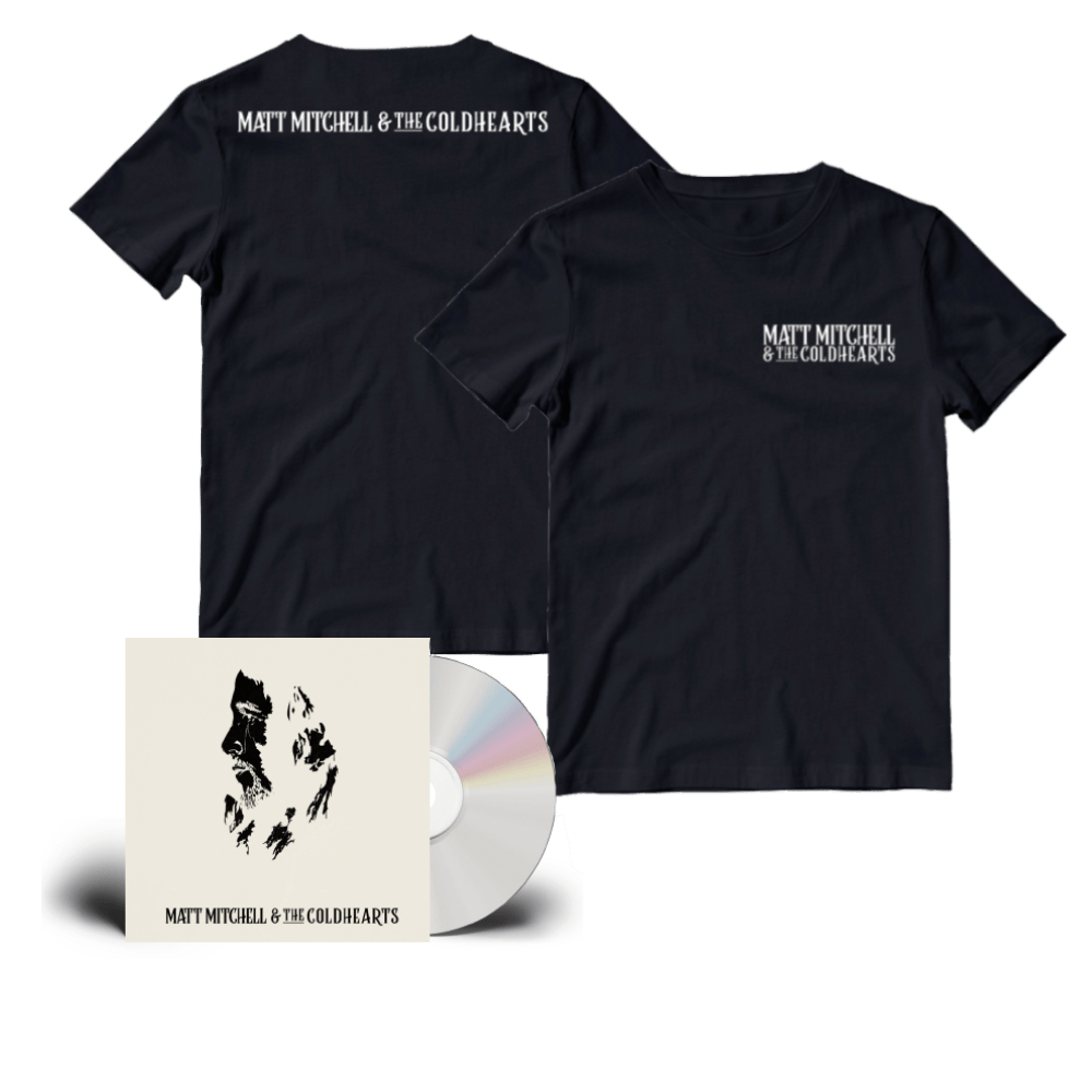 Buy Online Matt Mitchell & The Coldhearts - Matt Mitchell & The Coldhearts Special Edition CD + Black Logo T-Shirt