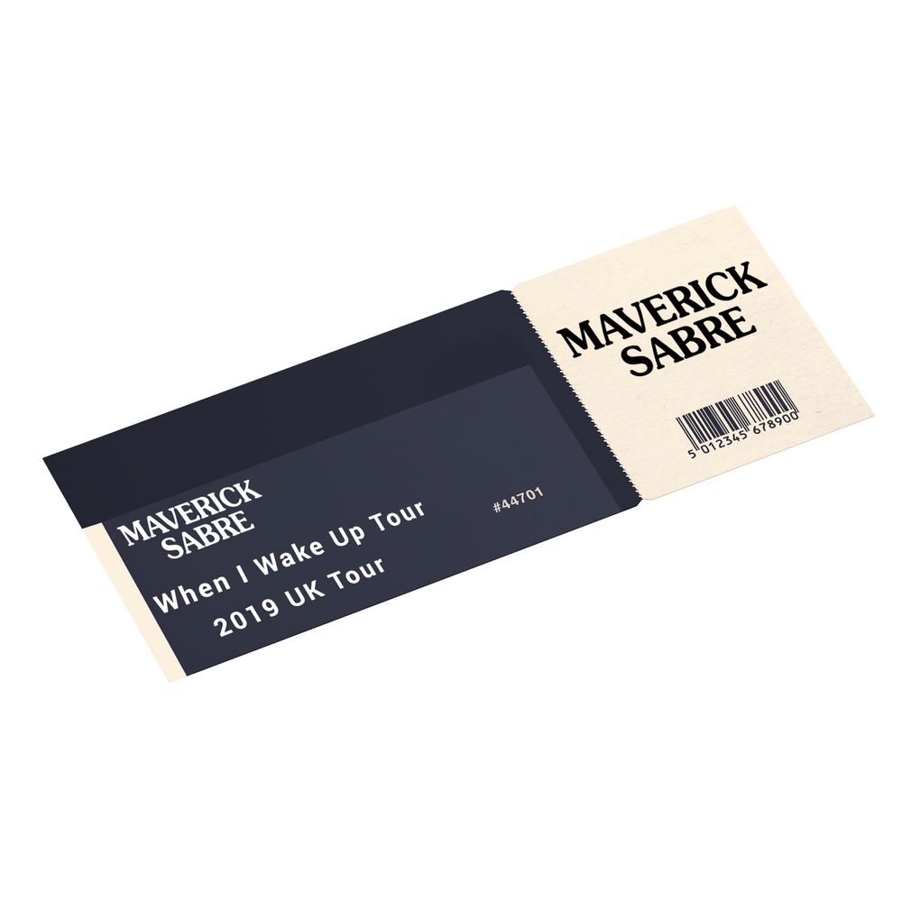 Buy Online Maverick Sabre - 2019 Tour Ticket
