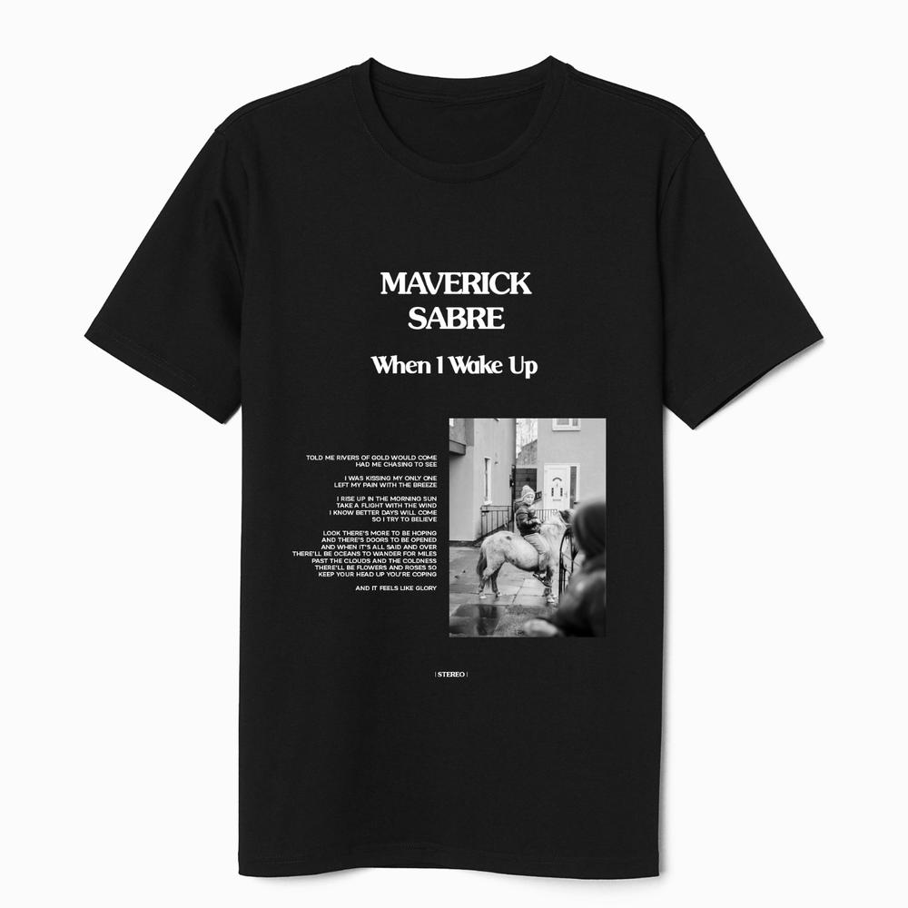 Buy Online Maverick Sabre - Album T-Shirt