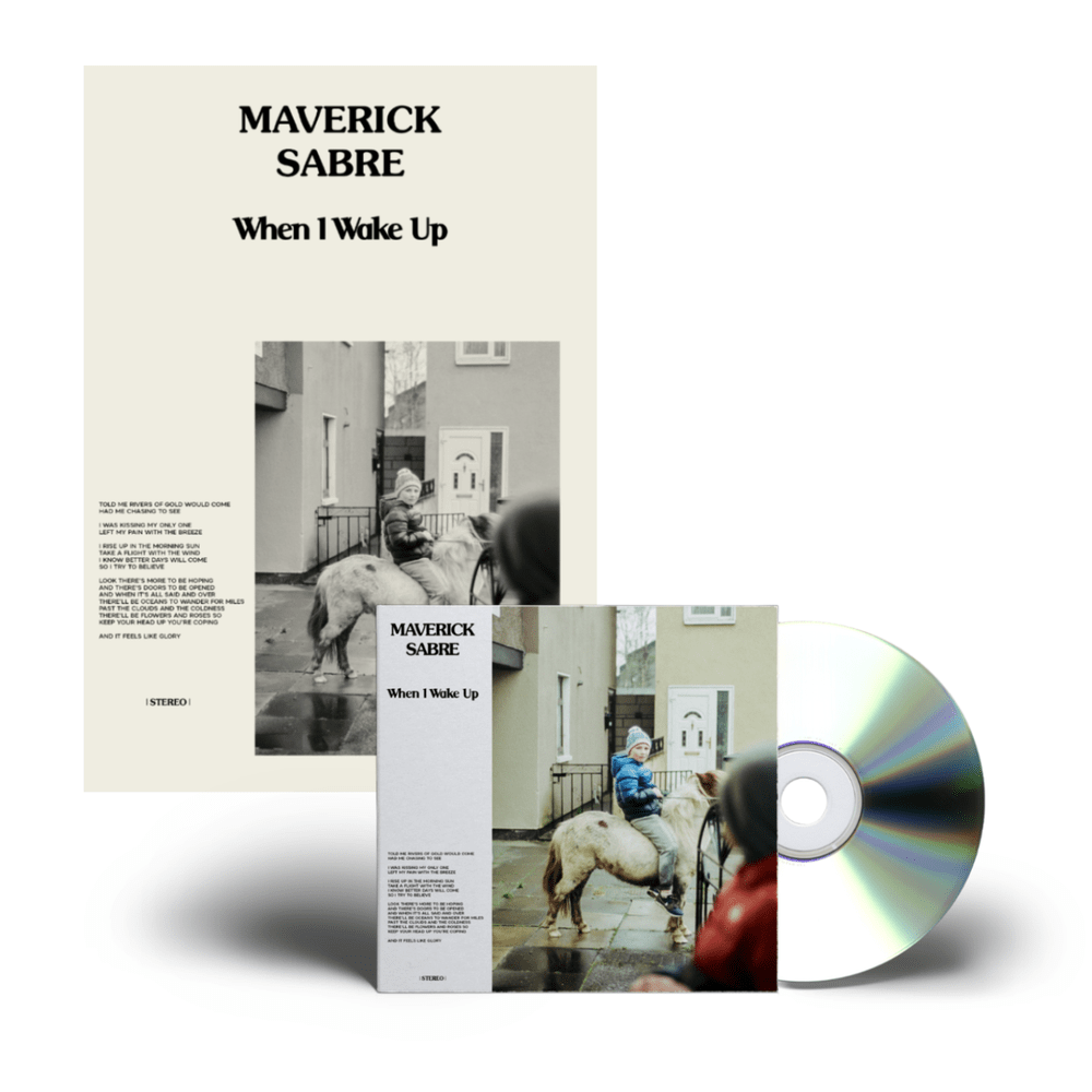 Buy Online Maverick Sabre - When I Wake Up Signed CD + A3 Poster