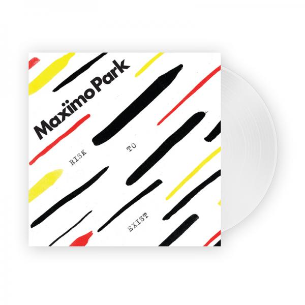 Buy Online Maximo Park - Risk To Exist Transparent Vinyl LP (Signed, Exclusive, Ltd Edition)