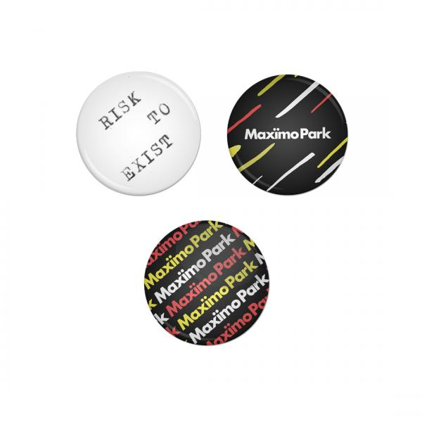 Buy Online Maximo Park - Badge Pack