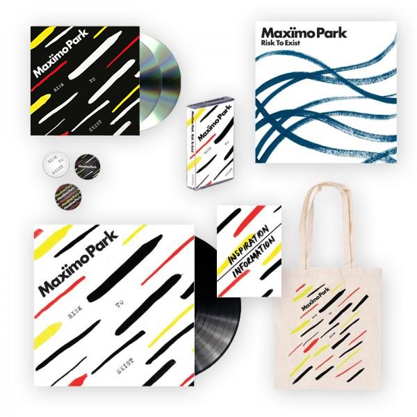 Buy Online Maximo Park - Risk To Exist Package