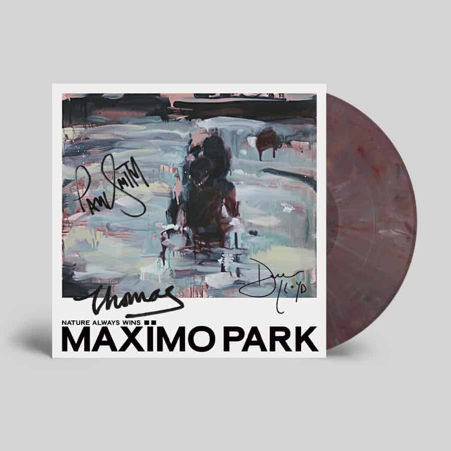 Buy Online Maximo Park - Nature Always Wins Coloured (Signed)