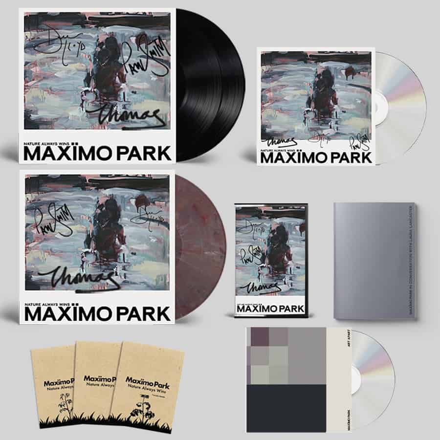 Nature Always Wins CD (Signed) + Black Double Vinyl (Signed) + Coloured Eco Mix Vinyl (Signed) + Cassette (Signed) + Zine + 3 Pack of Seeds