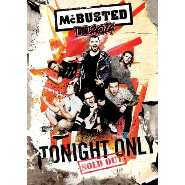 Buy Online McBusted - 2014 A2 Tour Poster
