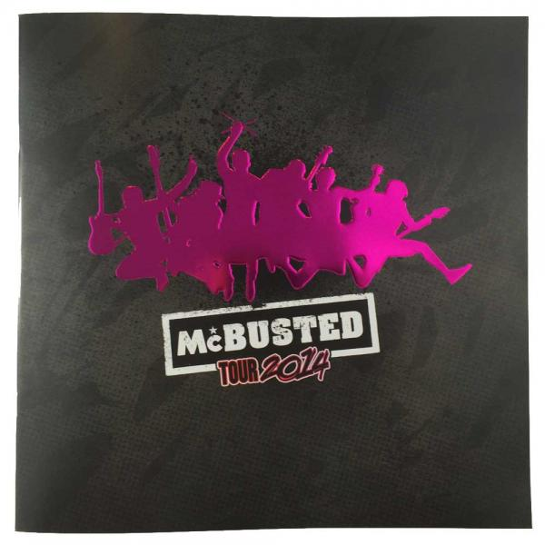 Buy Online McBusted - 2014 Tour Programme