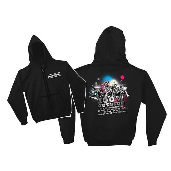Buy Online McBusted - 100% Outside Tour Hoody