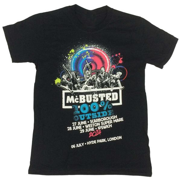 Buy Online McBusted - 100% Outside Tour T-Shirt