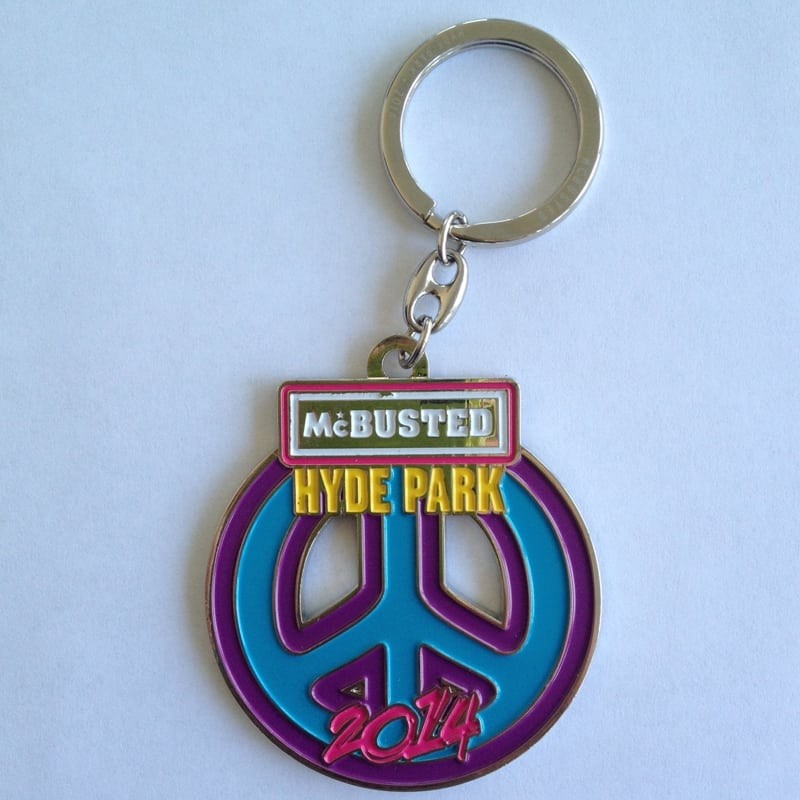 Buy Online McBusted - Hyde Park 2014 Key Ring