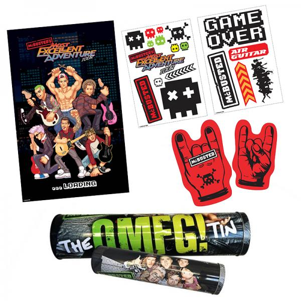 Buy Online McBusted - 2015 Tour OMFG Tin