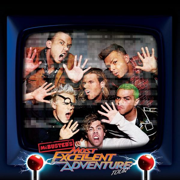 Buy Online McBusted - 2015 Tour Programme
