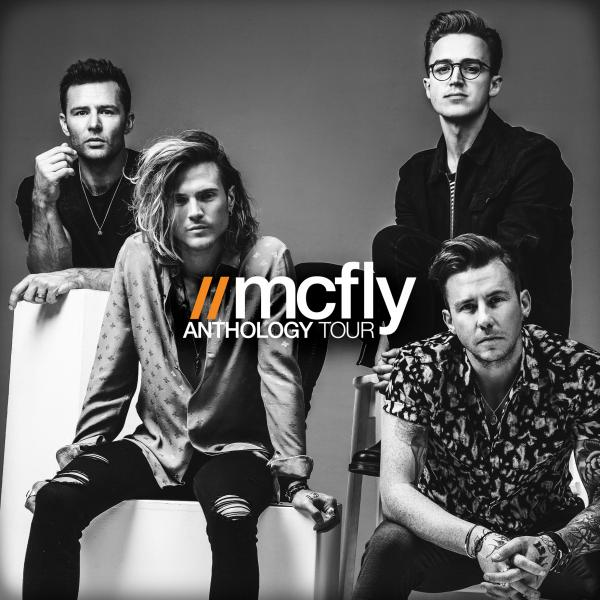 Buy Online McFly - Anthology Tour Book