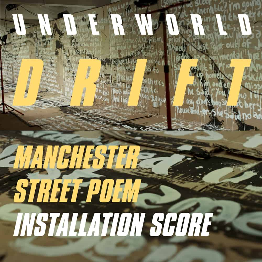 Buy Online Underworld - Manchester Street Poem Installation Score