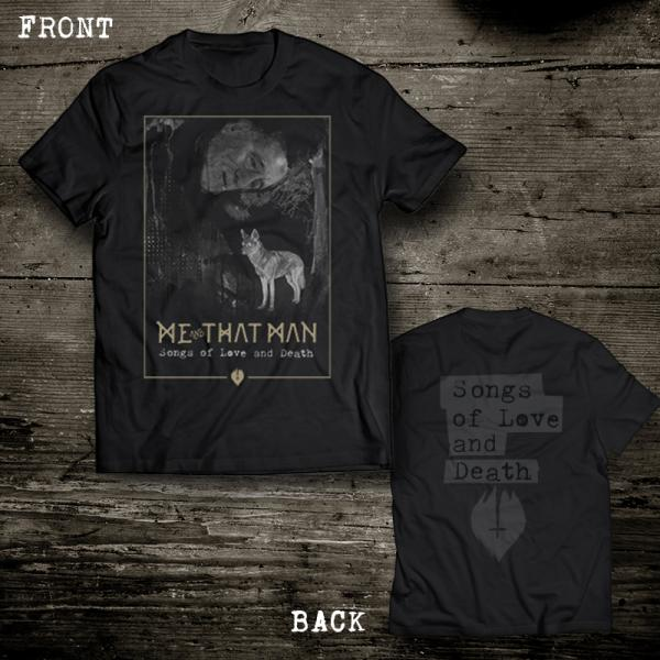 Buy Online Me & That Man - Songs of Love and Death T-Shirt