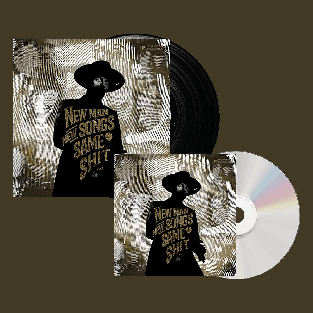 Buy Online Me & That Man - New Man, New Songs, Same Shit: Vol.1 Vinyl + CD Album Bundle
