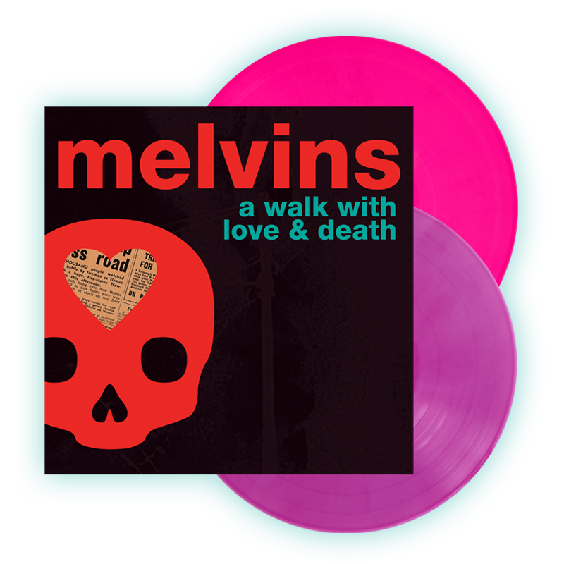 Buy Online Melvins - A Walk With Love & Death Double LP