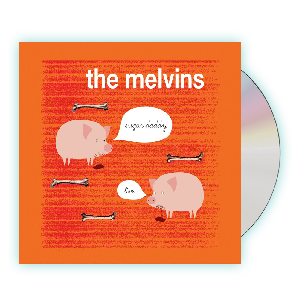Buy Online Melvins - Sugar Daddy Live CD Album
