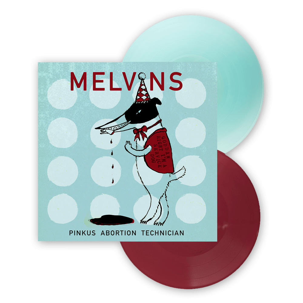 Buy Online Melvins - Pinkus Abortion Technician Double Electric Blue/Oxblood Coloured