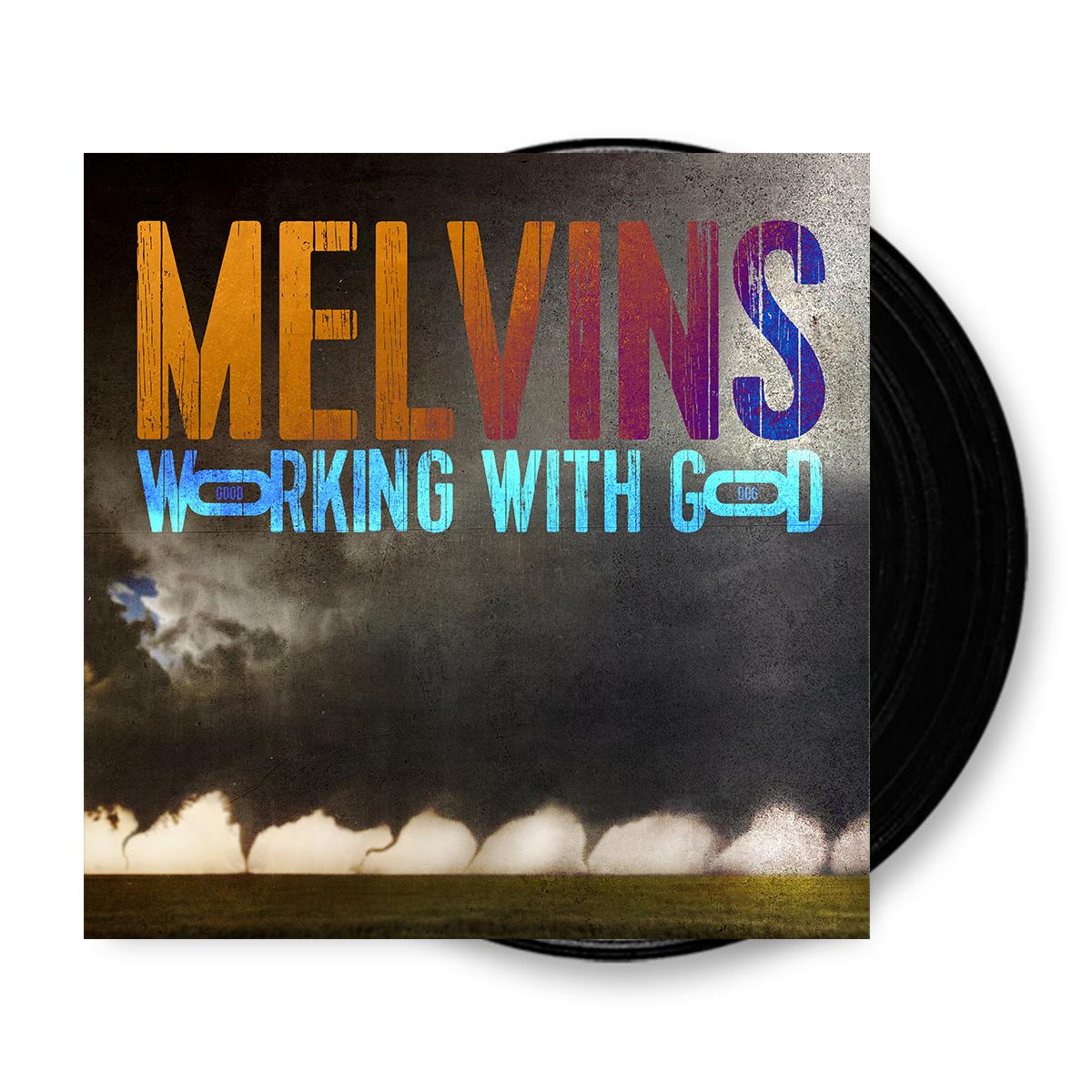 Buy Online Melvins - Working With God Black Vinyl