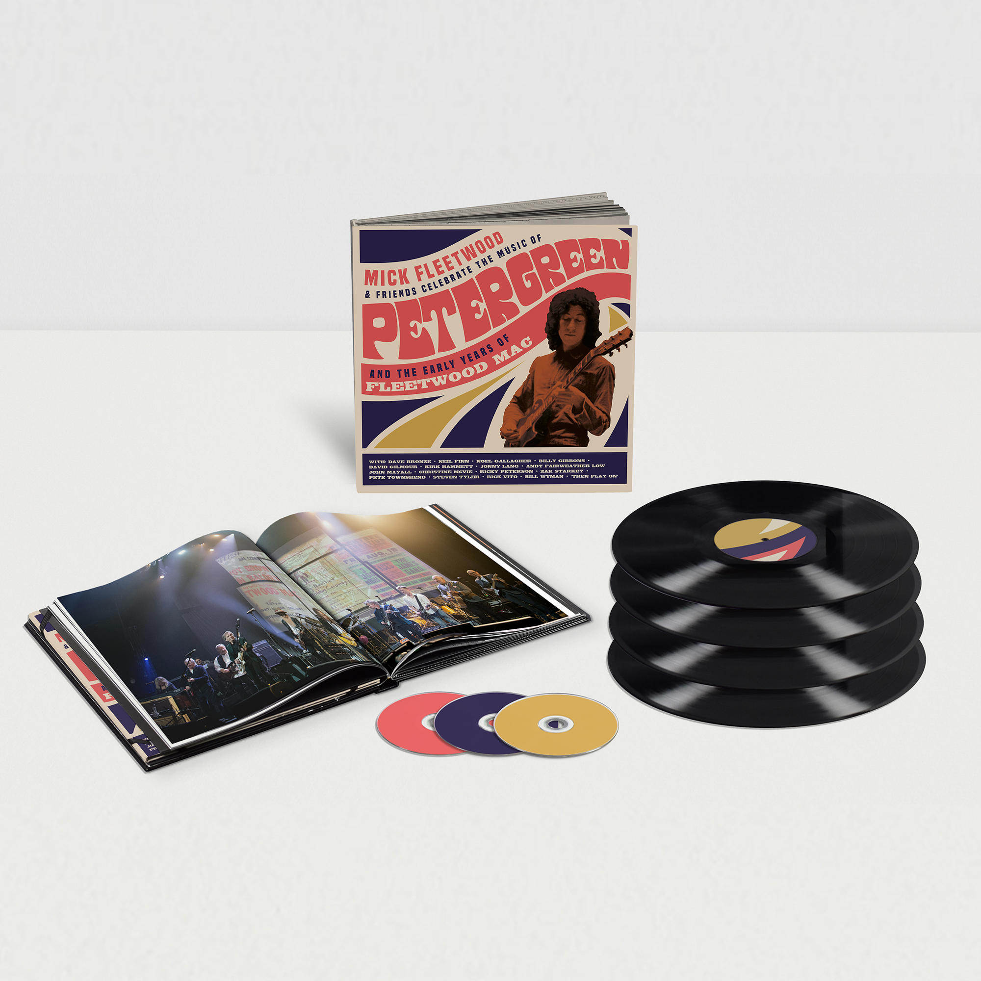 Buy Online Mick Fleetwood & Friends Celebrate The Music Of Peter Green And The Early Years Of Fleetwood Mac - Super Deluxe Edition Box Set