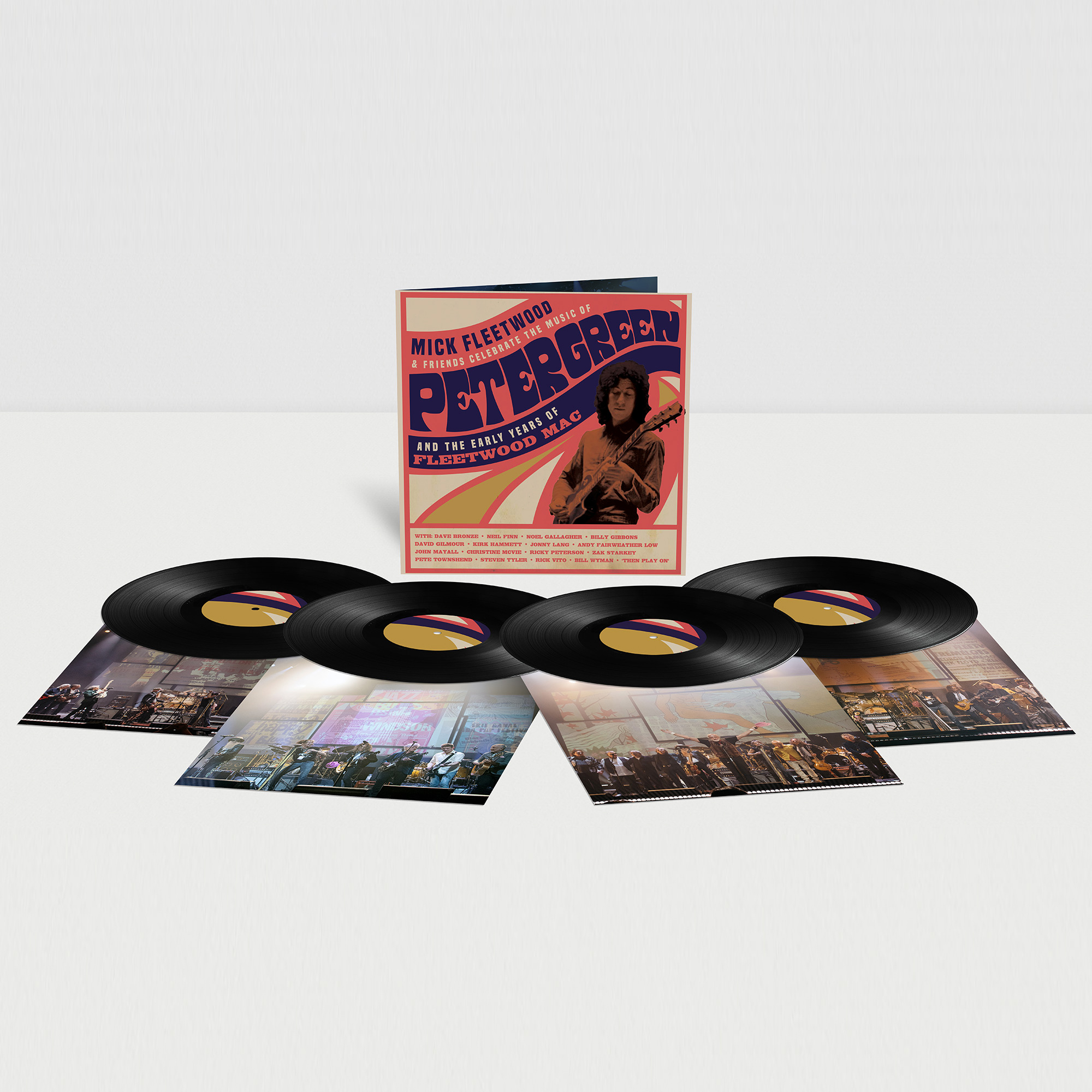Buy Online Mick Fleetwood & Friends Celebrate The Music Of Peter Green And The Early Years Of Fleetwood Mac - Quadruple Gatefold Vinyl