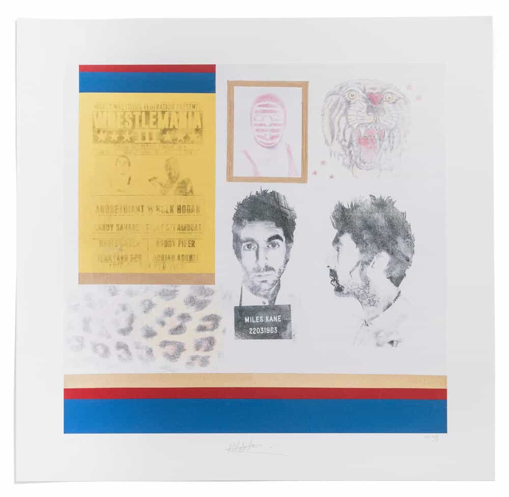 Buy Online Miles Kane - Bigger Better Badder - Miles Kane / Thomas James Butler Special Edition Print