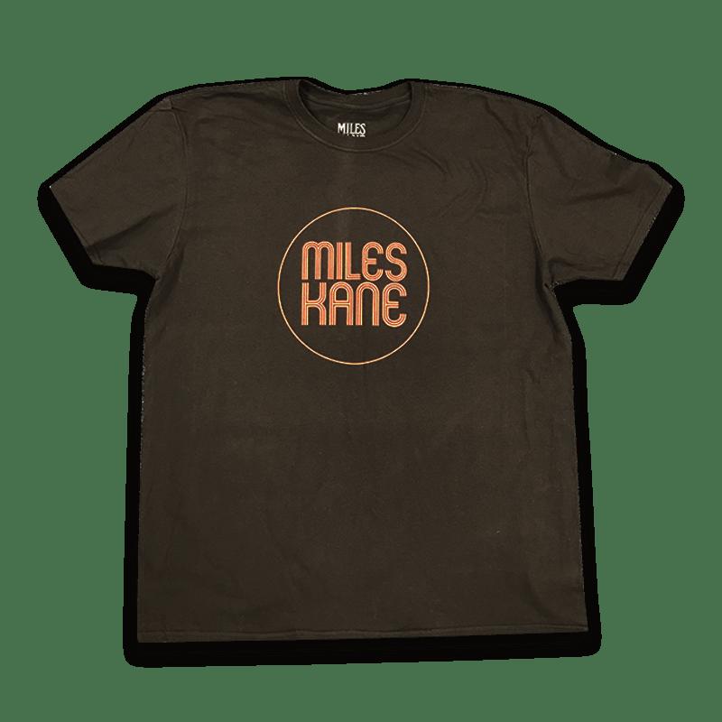 Buy Online Miles Kane - Logo Black / Red T-Shirt