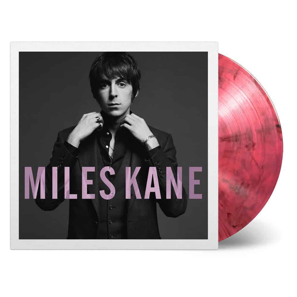 Buy Online Miles Kane - Colour Of The Trap Pink & Black Marble