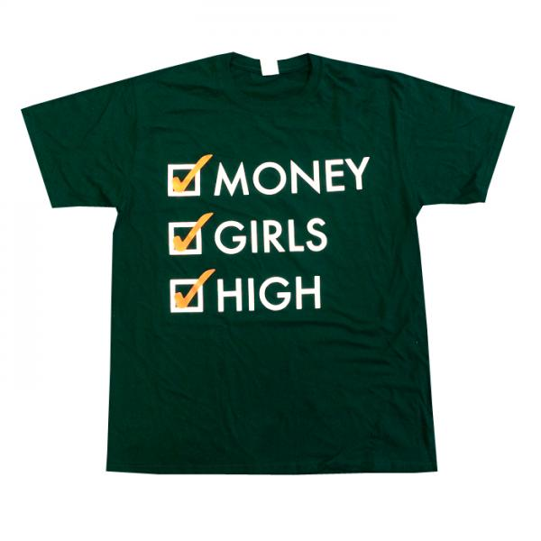 Buy Online Mindless Self Indulgence - Money, Girls, High T-Shirt