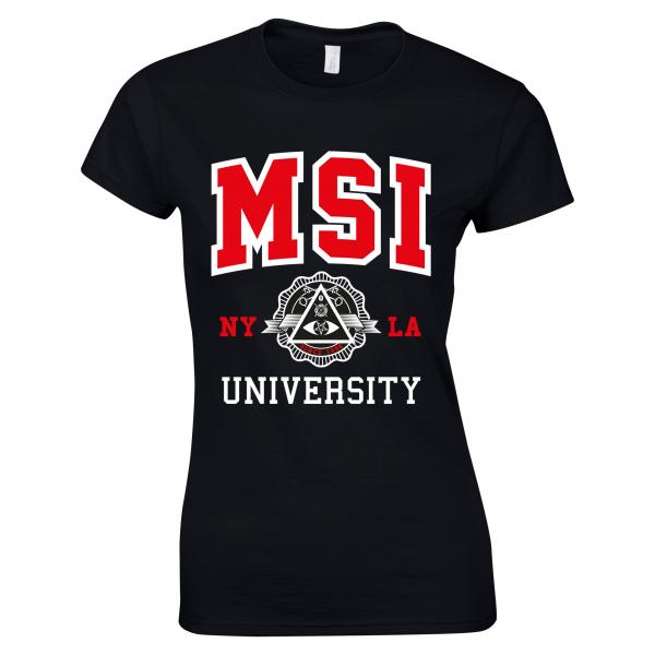 Buy Online Mindless Self Indulgence - Ladies University T-Shirt