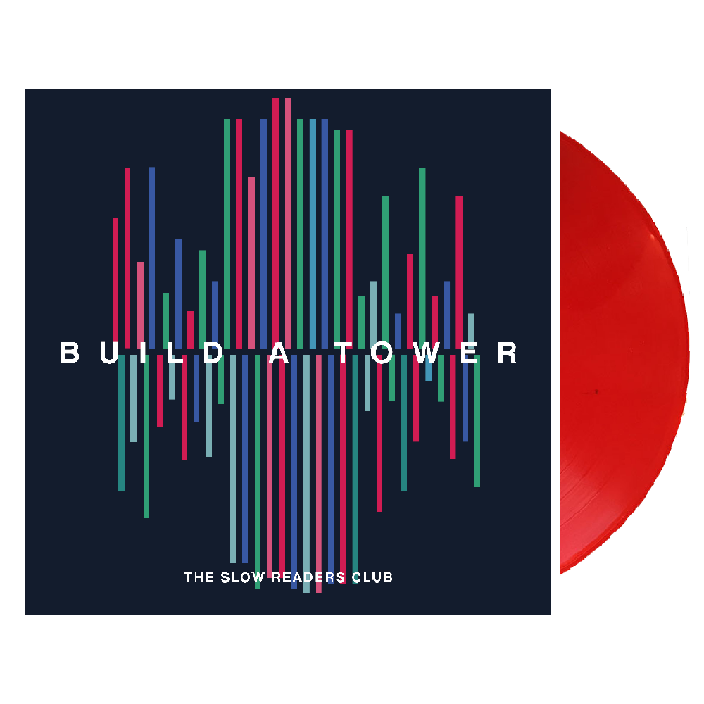 Buy Online The Slow Readers Club - Build A Tower Cherry Red Vinyl