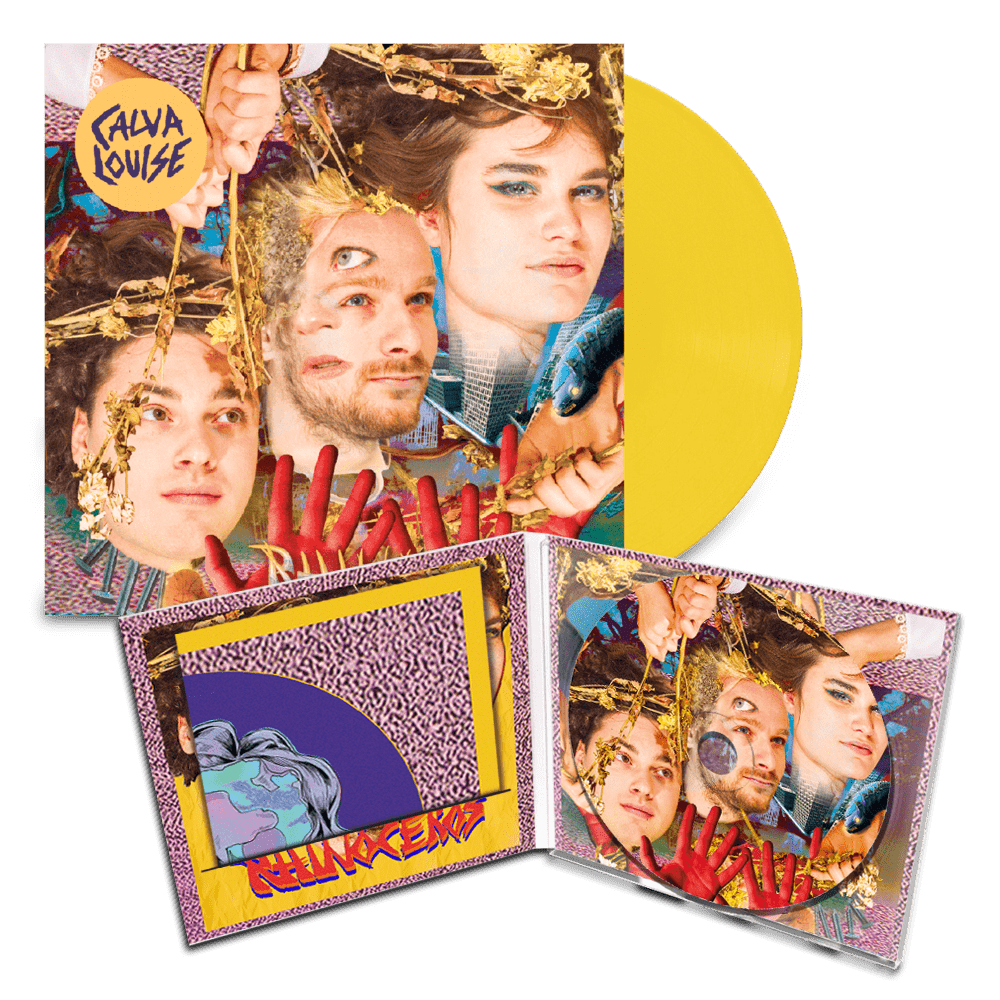 Buy Online Modern Sky - Calva Louise Rhinoceros CD (SIGNED) + Vinyl (SIGNED)