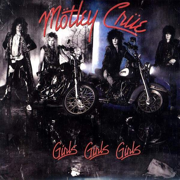 Buy Online Motley Crue - Girls Girls Girls Red
