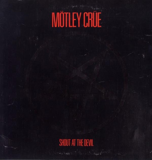 Buy Online Motley Crue - Shout At The Devil (180g Red & Black Vinyl)
