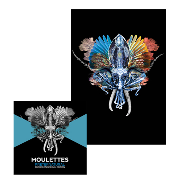 Buy Online Moulettes - Signed Preternatural 2CD Deluxe Edition + A2 Signed Art Print