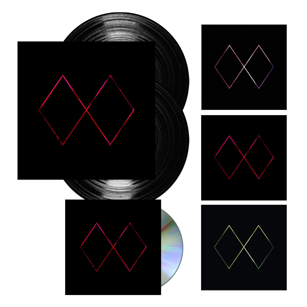 Buy Online Mt. Wolf - Aetherlight 2LP Vinyl (Signed) + CD (Signed) + 3 x Ltd Edition Prints
