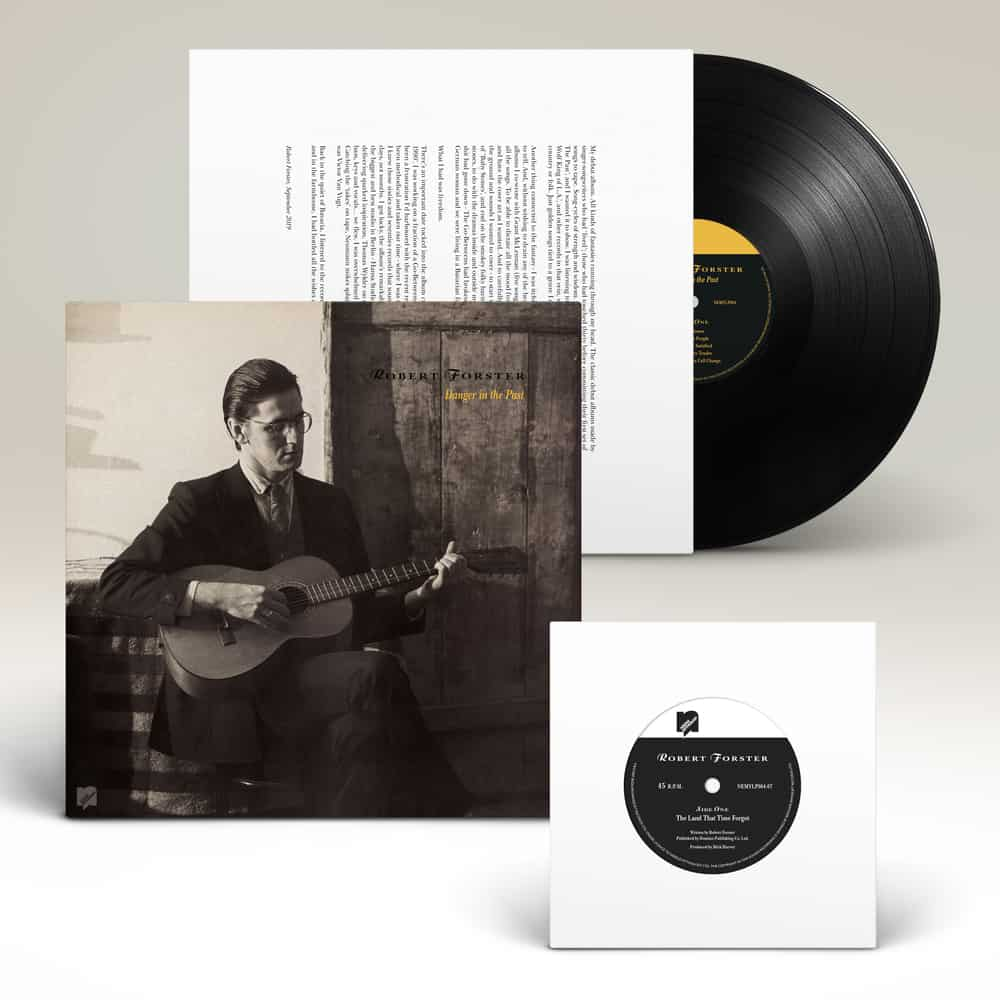 """Buy Online Robert Forster - Danger In The Past Vinyl (Includes 7"""" Vinyl)"""